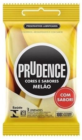 Preservativo Prudence Melão 3 Unidades