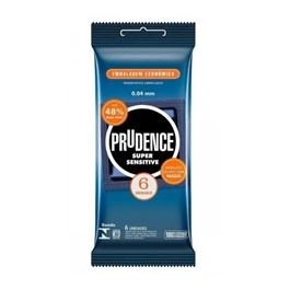 Preservativo Prudence Super Sensitive 6 unidades