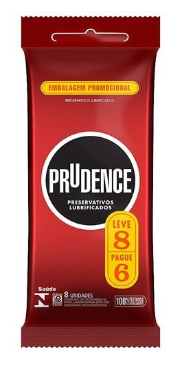 Preservativo Prudence Tradicional Leve 8 Pague 6