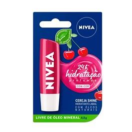 Protetor Labial Nivea Cereja Shine 4,8g