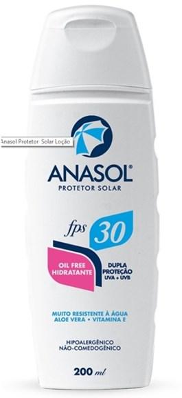 Protetor Solar Anasol FPS 30 200 ml