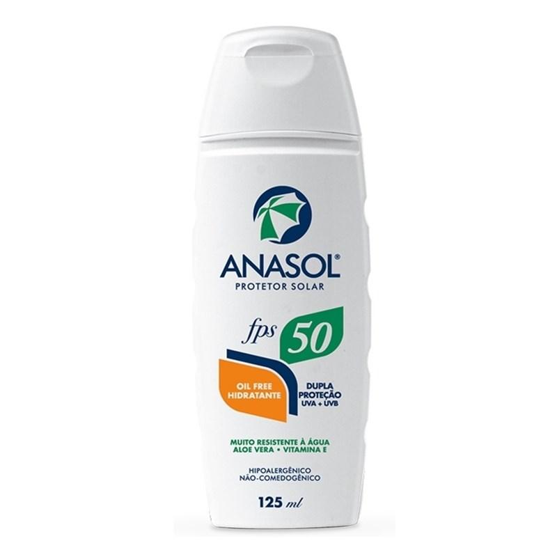 Protetor Solar Anasol FPS 50 125 ml