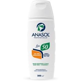 Protetor Solar Anasol FPS 50 200 ml