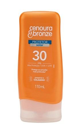 Protetor Solar Cenoura & Bronze FPS 30 110 ml