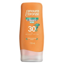 Protetor Solar Cenoura & Bronze FPS 30 110 ml Kids