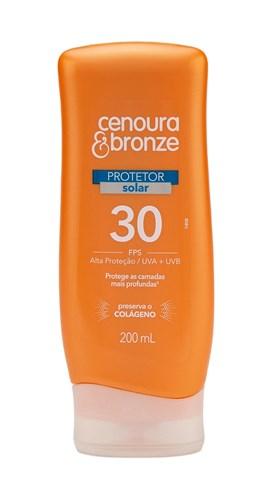 Protetor Solar Cenoura & Bronze FPS 30 200 ml