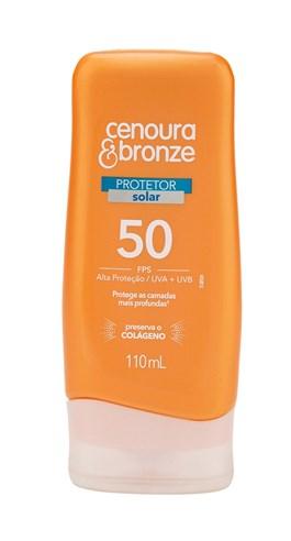 Protetor Solar Cenoura & Bronze FPS 50 110 ml