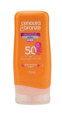 Protetor Solar Cenoura & Bronze FPS 50 110 ml Kids