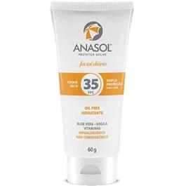 Protetor Solar Facial Anasol FPS 35 60 gr