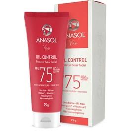 Protetor Solar Facial Anasol FPS 75 75 gr Oil Control