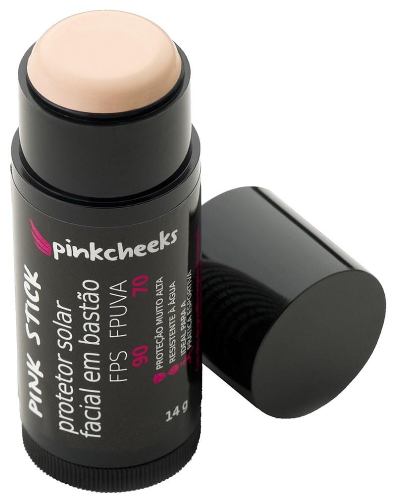 Protetor Solar Facial Bastão Pink Stick 14 gr 10km