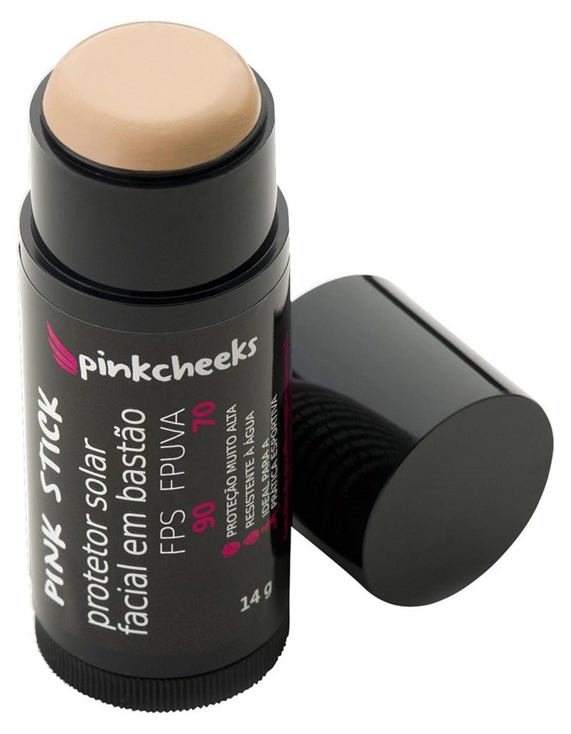 Protetor Solar Facial Bastão Pink Stick 14 gr 15 km