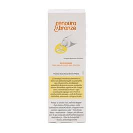 Protetor Solar Facial Cenoura & Bronze FPS 50 50 gr Toque Seco