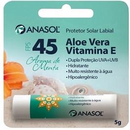 Protetor Solar Labial Anasol FPS 45 5 gr