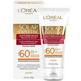 Protetor Solar L'oreal Expertise FPS 60 50 gr Antirrugas