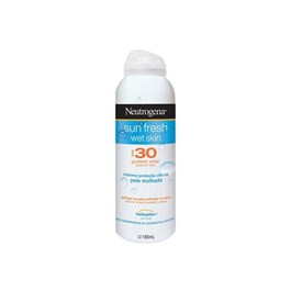 Protetor Solar Neutrogena Sun Fresh FPS 30 180 ml Wet Skin