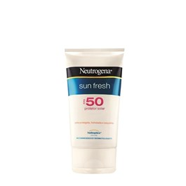Protetor Solar Neutrogena Sun Fresh FPS 50 120 ml