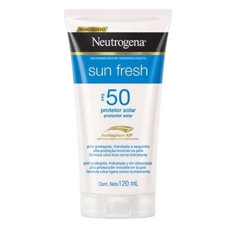Protetor Solar Neutrogena Sun Fresh FPS 50 120 ml