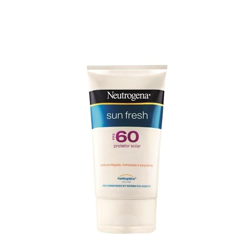 Protetor Solar Neutrogena Sun Fresh FPS 60 120 ml