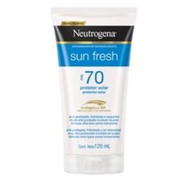 Protetor Solar Neutrogena Sun Fresh FPS 70 120 ml