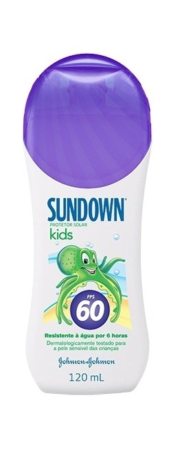 Protetor Solar Sundown FPS 60 120 ml Kids