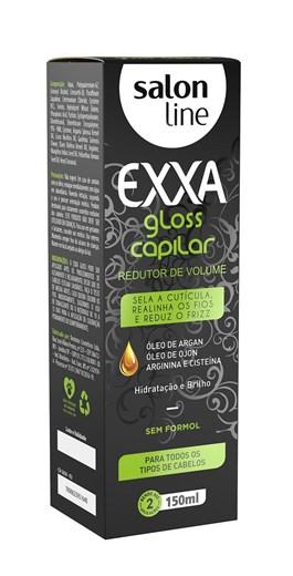 Redutor de Volume Salon Line 150 ml Exxa Gloss Capilar