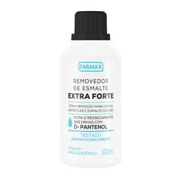 Removedor de Esmalte Farmax 100 ml Extra Forte