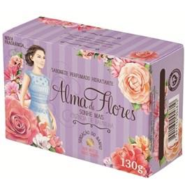 Sabonete Alma de Flores 130 gr Essência de Baunilha