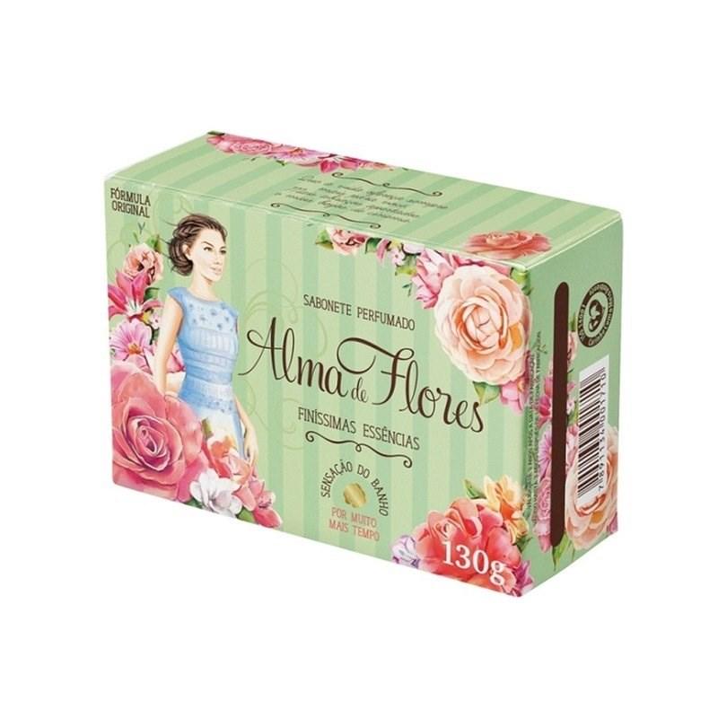 Sabonete Alma de Flores 130 gr Finissimas Essencias