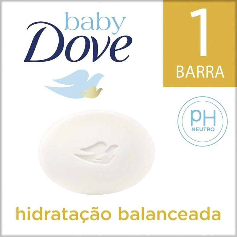 Sabonete Barra Baby Dove Hidratação Balanceada 75 GR