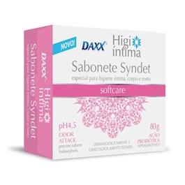 Sabonete Barra Daxx Higi Íntima 80 gr SoftCare