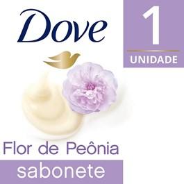 Sabonete Barra Dove Delicious Care 90 gr Creme e Flor de Peônia