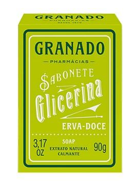 Sabonete Barra Granado 90 gr Erva Doce