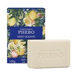 Sabonete Barra Phebo 100 gr Limão Siciliano