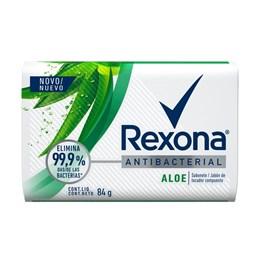Sabonete Barra Rexona Antibacterial 84 gr Aloe