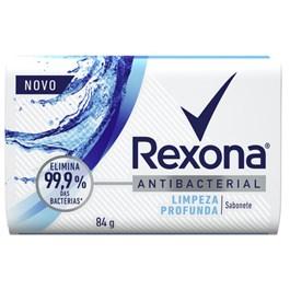 Sabonete Barra Rexona Antibacterial 84 gr Limpeza Profunda