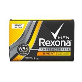 Sabonete Barra Rexona Men Antibacterial 84 gr Sport