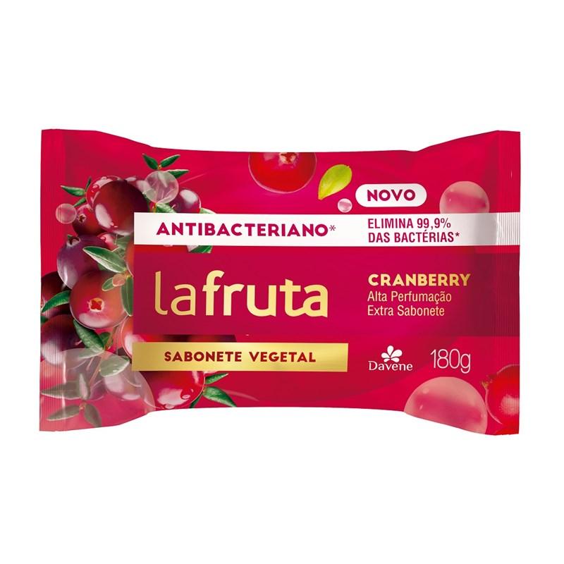 Sabonete Davene La Fruta Antibacteriano 180 gr Cranberry