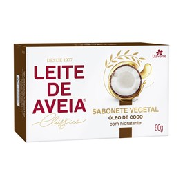Sabonete Davene Leite de Aveia 90 gr Óleo de Coco