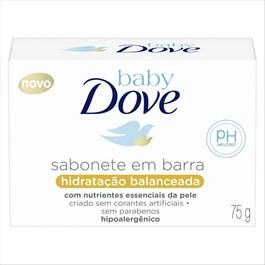 Sabonete em Barra Baby Dove Hidratação Balanceada 75 GR