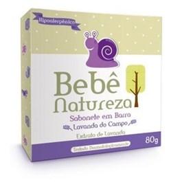 Sabonete em Barra Bebe Natureza 80 gr Suave