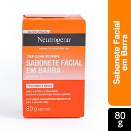 Sabonete em Barra Neutrogena Deep Clean Limpeza Profunda 80g
