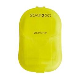 Sabonete em Folhas Oceane Soap2Go 30 unidades Limão