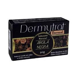 Sabonete Facial em Barra Dermytrat 90 gr Argila Negra