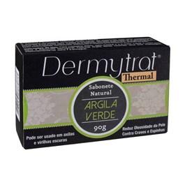 Sabonete Facial em Barra Dermytrat 90 gr Argila Verde