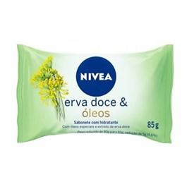 Sabonete Hidratante Nivea 85 gr Erva Doce & Óleos
