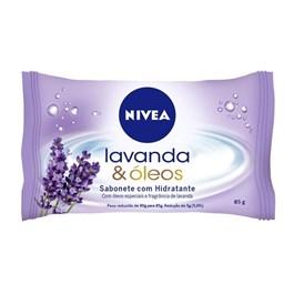 Sabonete Hidratante Nivea 85 gr Lavanda & Óleos