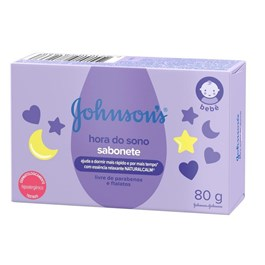 Sabonete Johnson's Baby 80 gr Hora do Sono