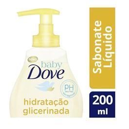 Sabonete Líquido da Cabeça aos Pés Baby Dove Hidratação Glicerinada 200 ML