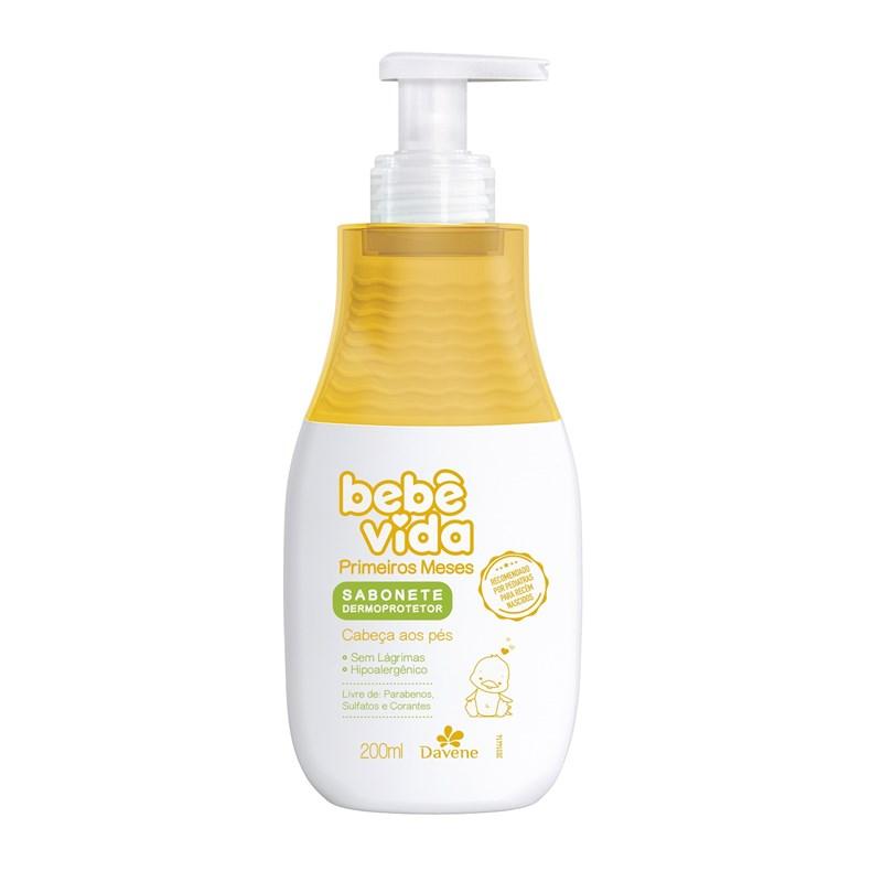 Sabonete Líquido Davene Bebê Vida Primeiros Meses 200 ml